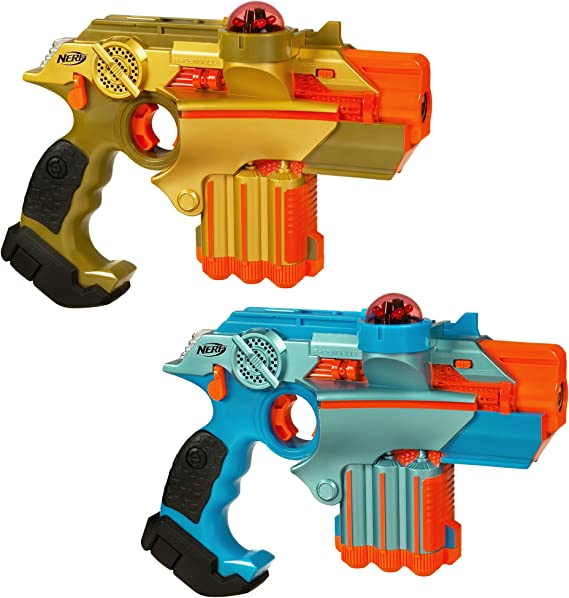 Nerf Official: Lazer Tag Phoenix LTX Tagger 2-pack - Fun Multiplayer Laser Tag Game for Kids & Adults