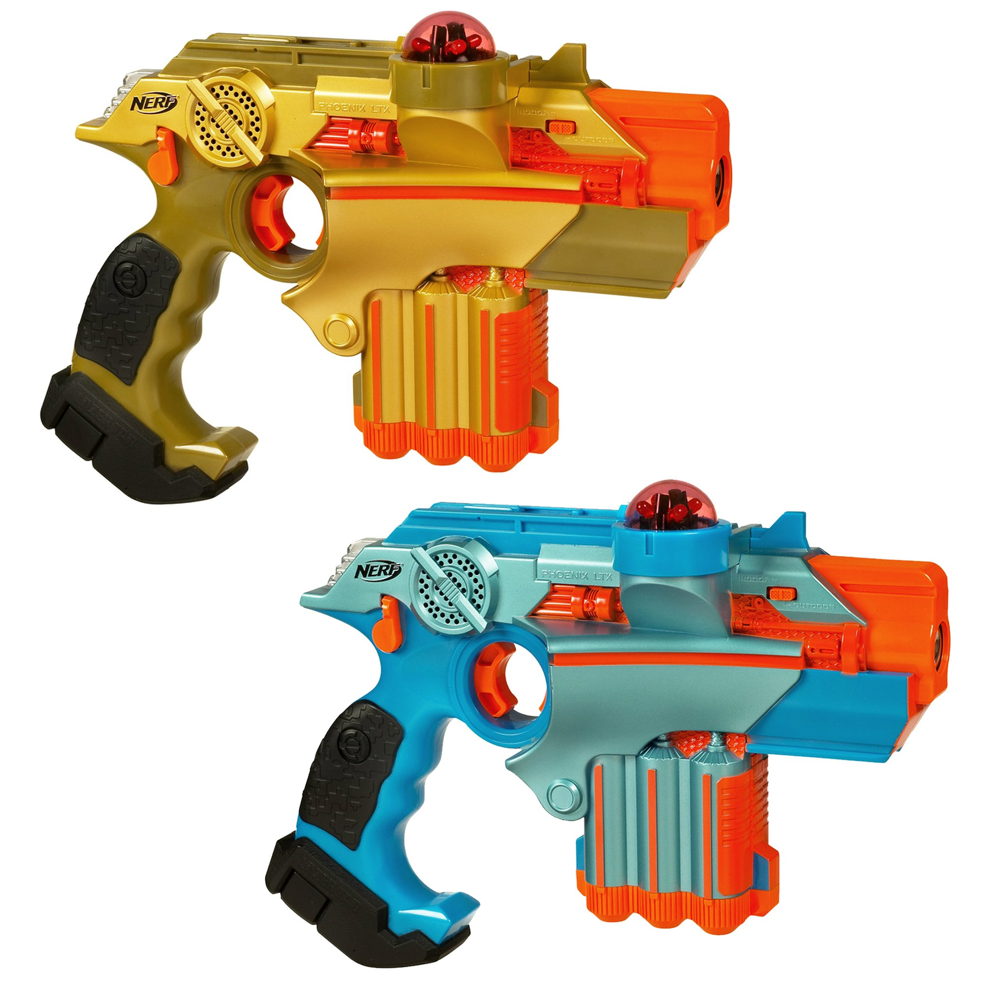 Nerf Official: Lazer Tag Phoenix LTX Tagger 2-pack - Fun Multiplayer Laser Tag Game for Kids & Adults, Ages 8 & Up (Amazon Exclusive)