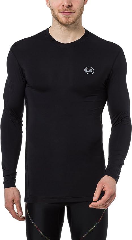 Fitness Funktionsshirt in zwei Farben S-2XL Ultrasport Herren Kompressionsshirt Ben lang atmungsaktiv