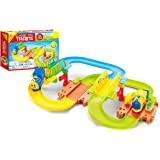 Popsugar 31pcs Block Train Play Set