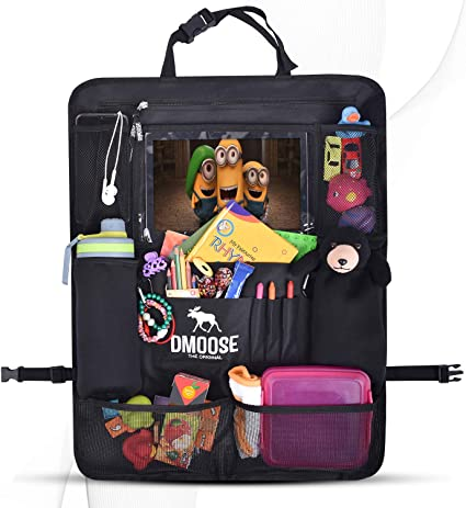 DMoose Car Backseat Organizer for Kids - The Best Midrange Back Seat Organizer