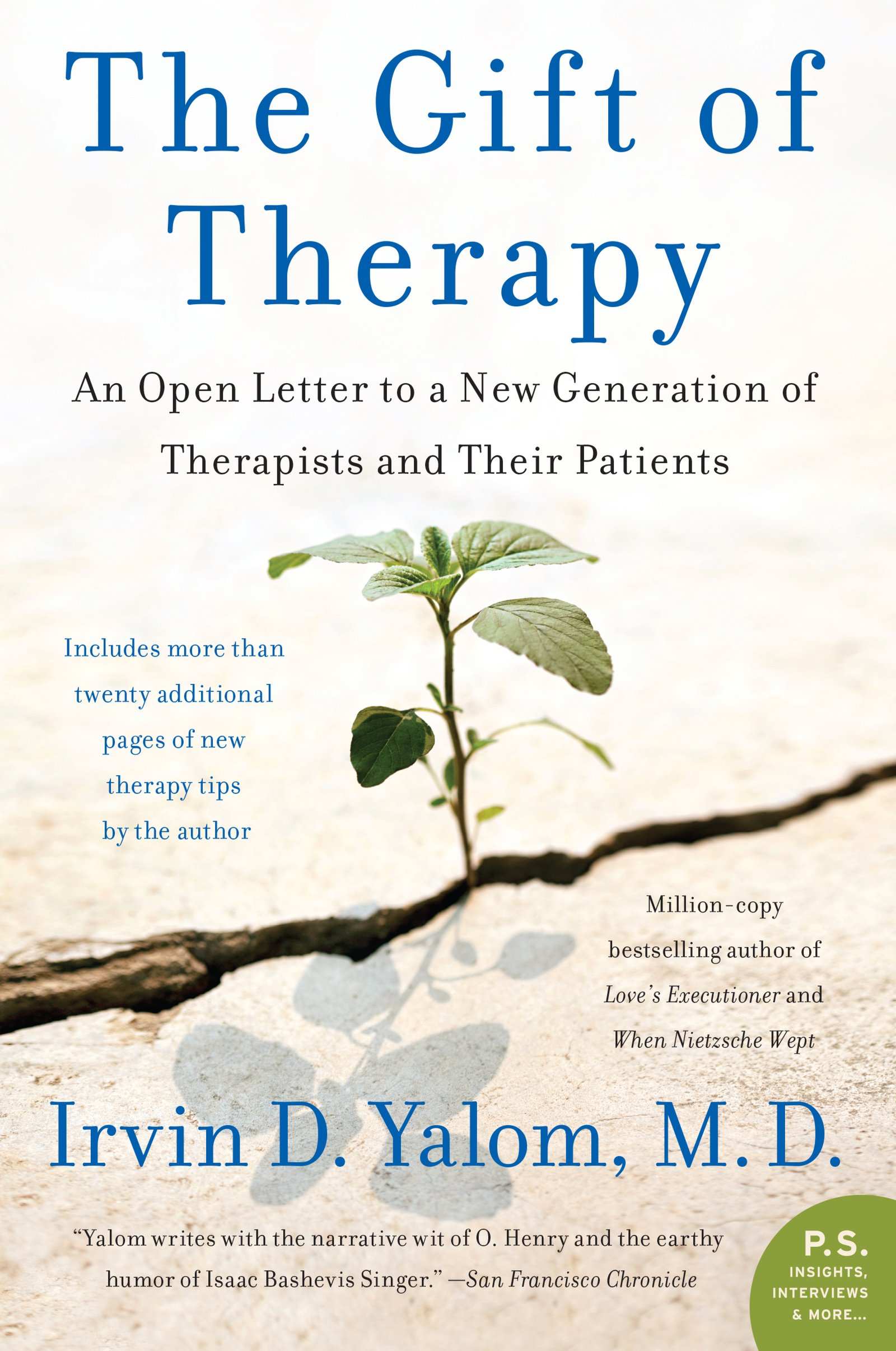 The Gift of Therapy: An Open Letter to a New