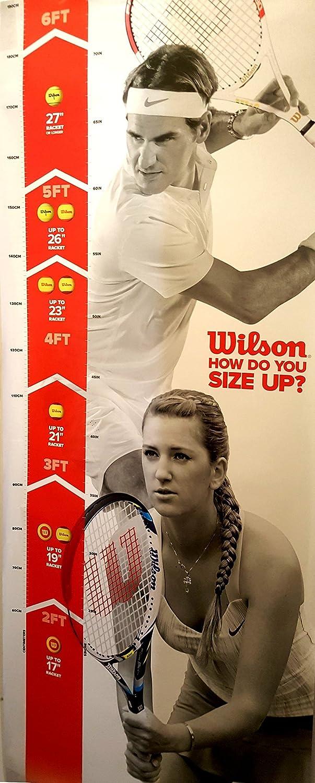 Wilson Racket Sport Burn Raquette de Tennis Enfant