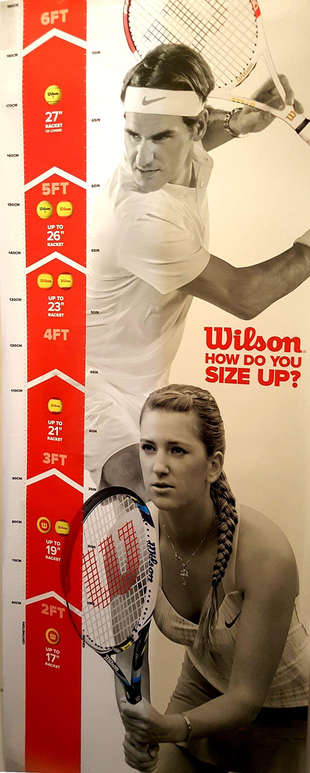 Wilson Junior Burn 23 Tennis Racquet by Wilson (Image #3)