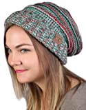 3e37e8826d6 Funky Junque H-6100-6208 Oversized Slouchy Beanie - Christmas Mix