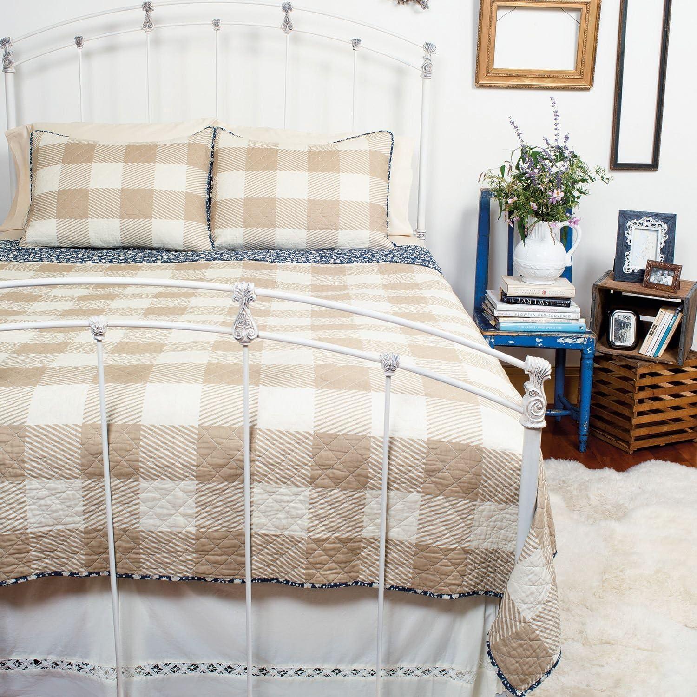 Lady Antebellum Heartland™ Reversible Quilt Set, 100% Cotton (King, Saugatuck)