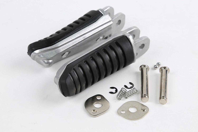 XMT-MOTOR Moto Noir Passager Arri/ère Repose-pieds P/édales pour Bandit 400 GSF400 GK75A GSX400 91-97 GSF1200 Bandit 96-05 GSF600 96-00 GSX-R1100 89-98