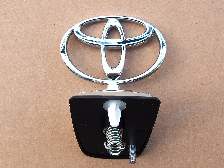 Cappuccio cofano anteriore distintivo emblema cromato Genuine