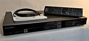 Sony RDR-GX257 Recordable DVD Player with HDMI Upscaling, Black