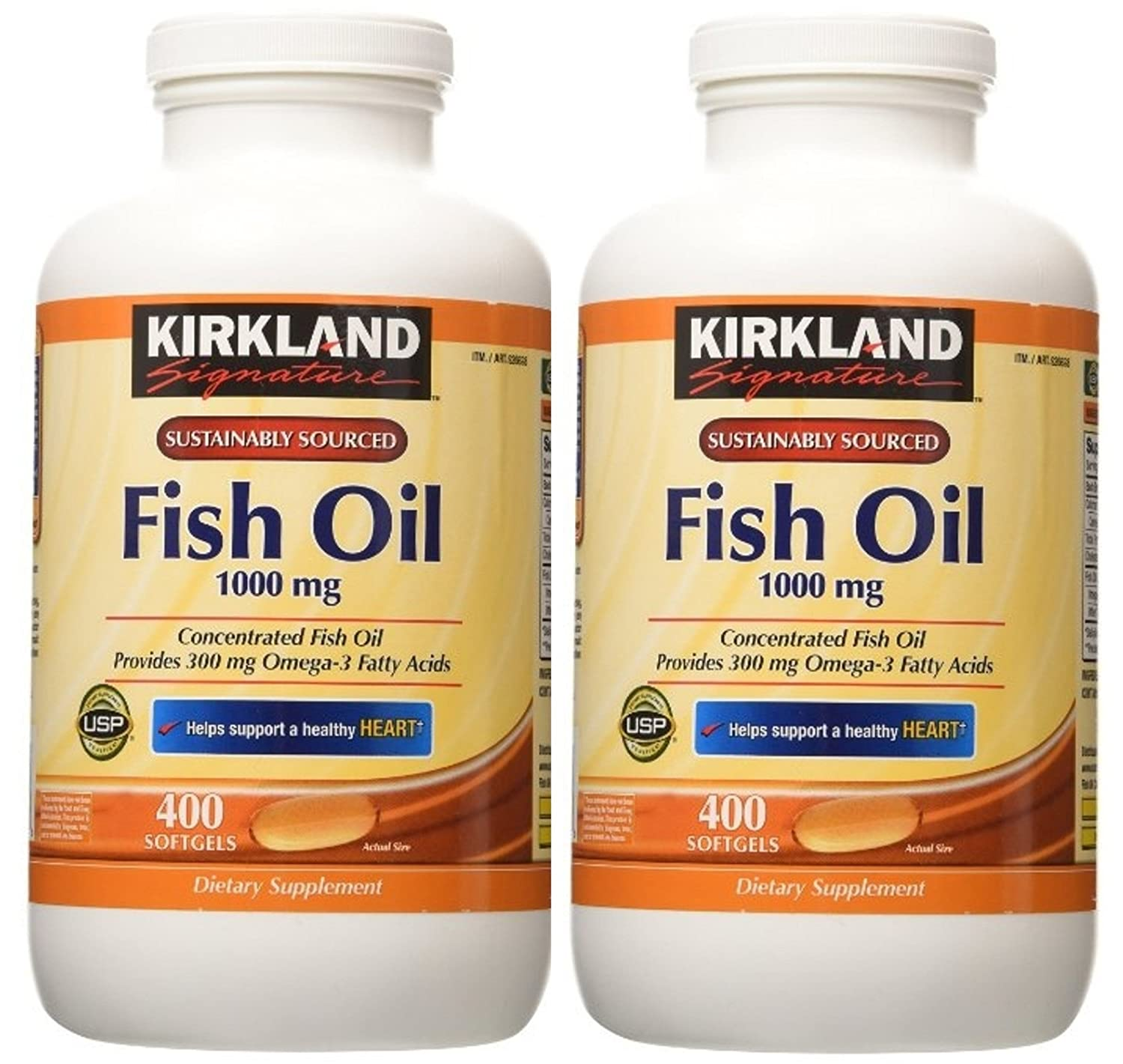 Medication discount coupons bvgg - Amazon Com Kirkland Signature Fish Oil Concentrate With Omega 3 Fatty Acids 400 Softgels 1000mg Health Personal Care