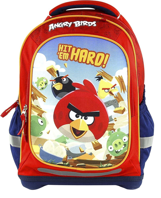 Target Superlight Angry Birds Mochila Escolar, 43 cm, 38 Liters, Rojo (Rosso): Amazon.es: Equipaje