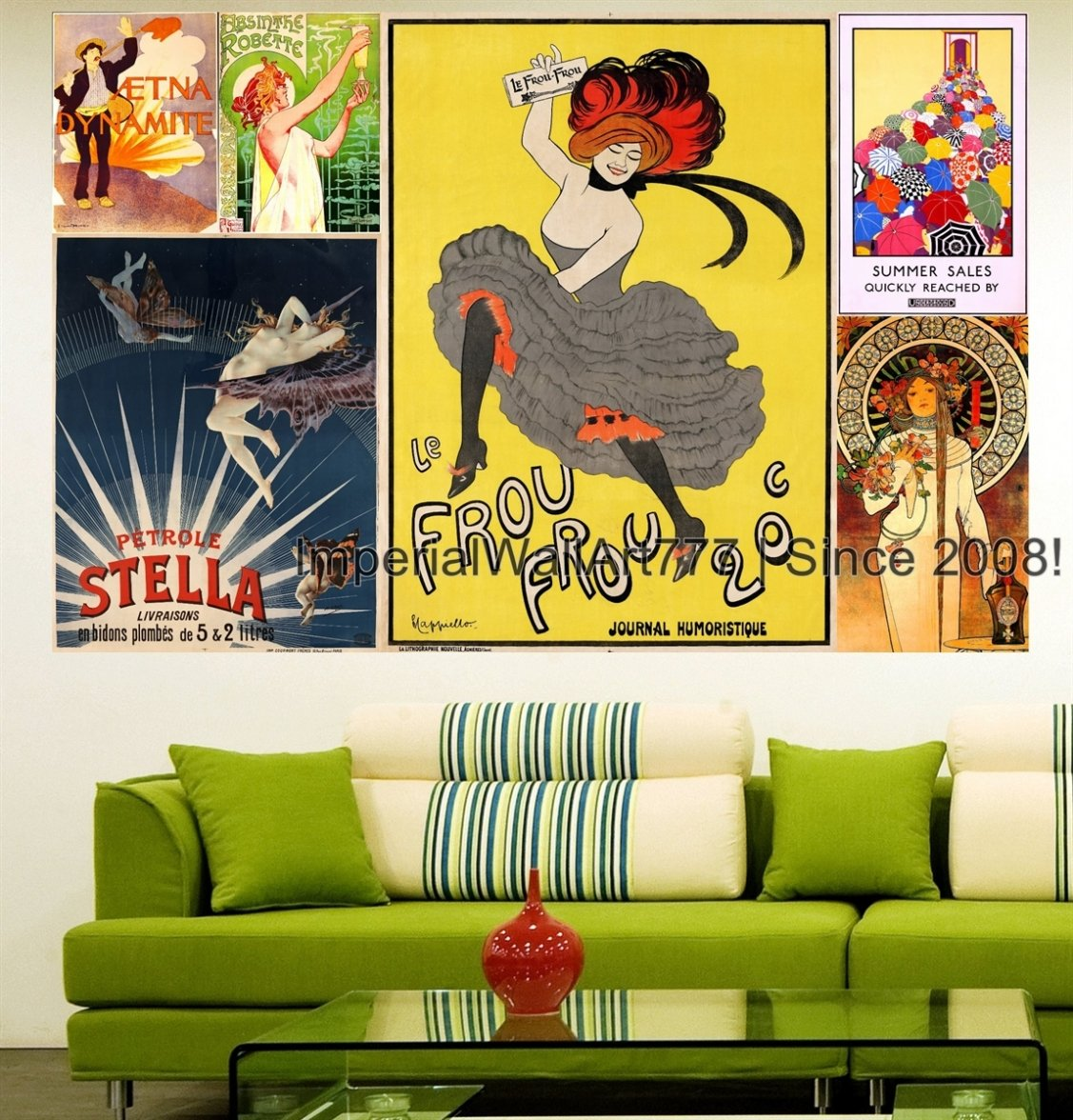 Amazon.com: ImperialWallArt777 Vintage Poster Photo Collage DYNAMITE ...