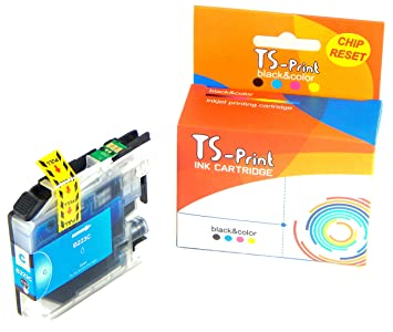 TS-Print Cartucho de Tinta Compatible para Brother LC-221C LC-223C ...