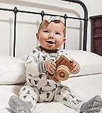 Burt's Bees Baby 1-Pack Unisex Pajamas, Zip-Front