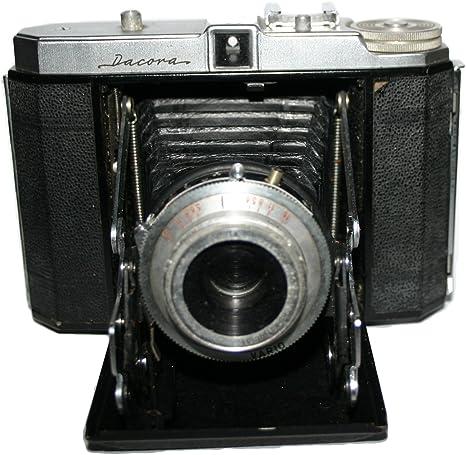 DACORA 120 plegable formato medio rollo de película cámara 1952 ...