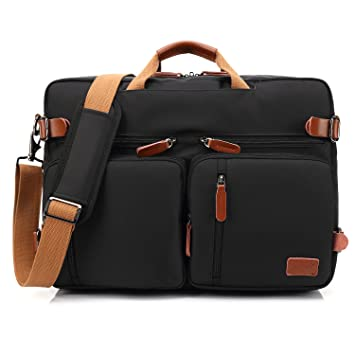 CoolBELL Convertible Backpack Messenger Bag Shoulder bag Laptop Case  Handbag Business Briefcase Multi-functional Travel