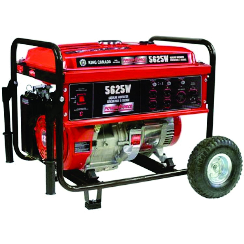 Gasoline Generator 5625W with Wheel Kit King Canada Amazon
