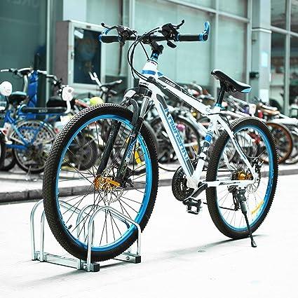 FEMOR Aparca Bicicleta Soporte Para Bicicleta Suelo Pared ...