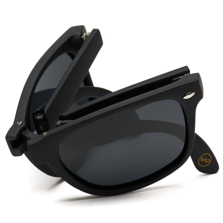 a7f7081437 Modern black square foldable sunglasses with case black frame black lens  clothing jpg 1500x1500 Foldable glasses