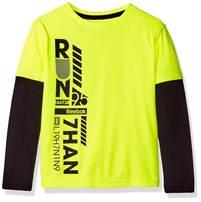 Amazon.com  Reebok Boys  Long Sleeve Active T-Shirt  Clothing b048d0a1b