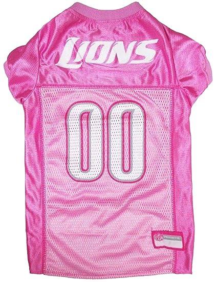 Amazon.com   NFL Detroit Lions Dog Jersey Pink c344fdc76