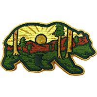 O'Houlihans - Mountain Forest Bear Velcro Patch