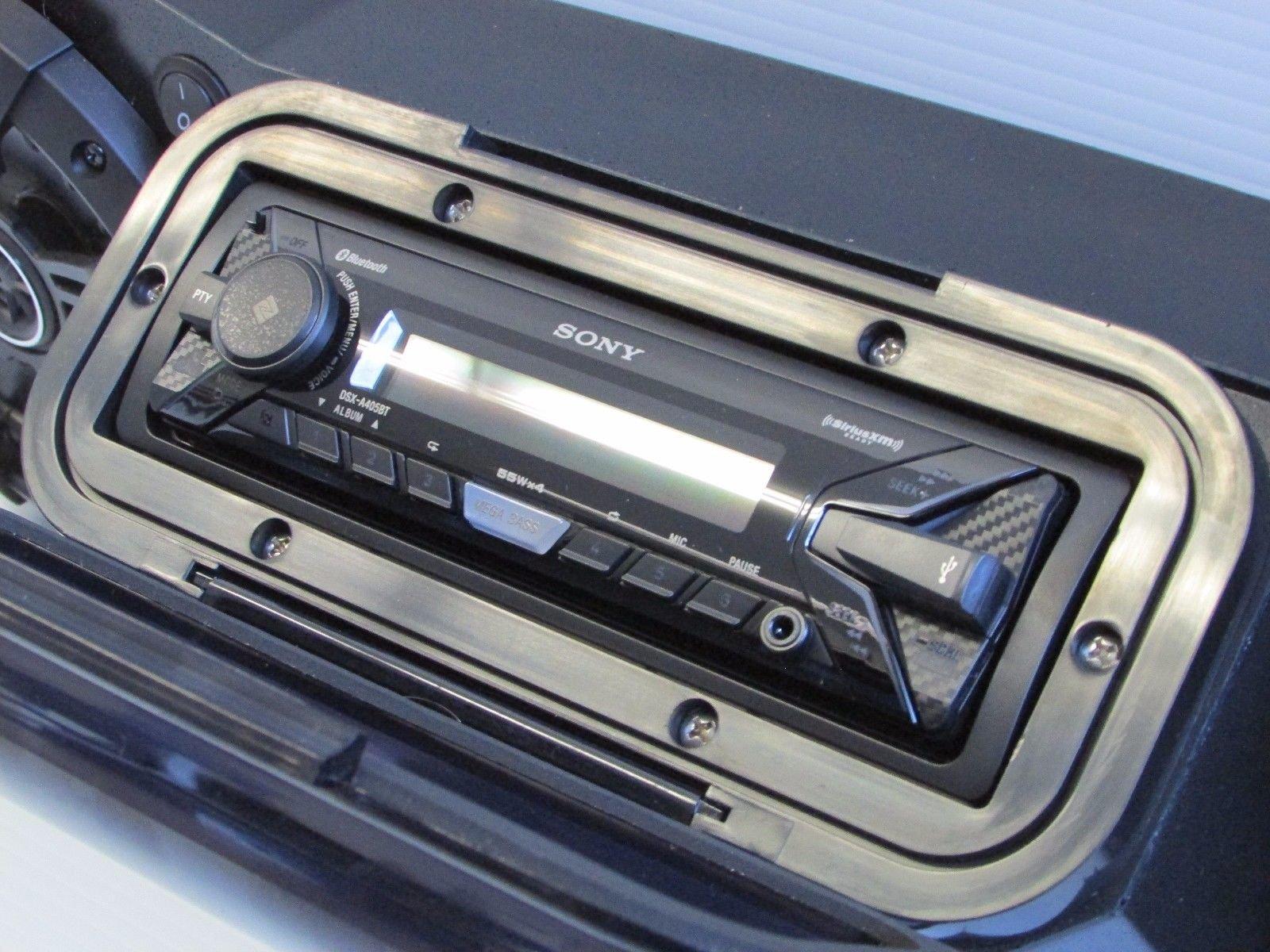SD CABBT4B -CanAm Maverick & Commander Stereo System Bluetooth UTV Side by Side (4-6.5'' Marine Speakers)