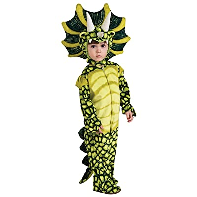 Silly Safari Costume, Triceratops Costume-Small: Toys & Games