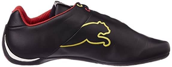 PumaFuturecatlthsff5 - Zapatillas Adultos Unisex, Negro (Black-Rosso Corsa 05), 35.5