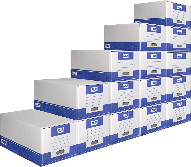 Caja de 10 m/ódulos de caj/ón Elba 100725929 cart/ón microcanal