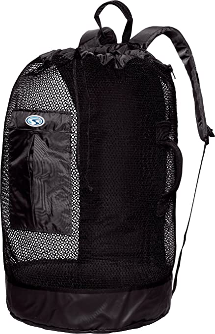 8df5c1fb78 Amazon.com  Stahlsac WD16 Bonaire Deluxe Mesh Dry Backpack - Black ...