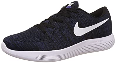 the latest a5722 7f158 Nike Men's Lunarglide 8 Blue and White Running Shoes - 10 UK ...