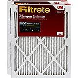 Filtrete Micro Allergen Defense AC Furnace Air Filter, MPR 1000, 12 x 24 x 1-Inches, 2-Pack