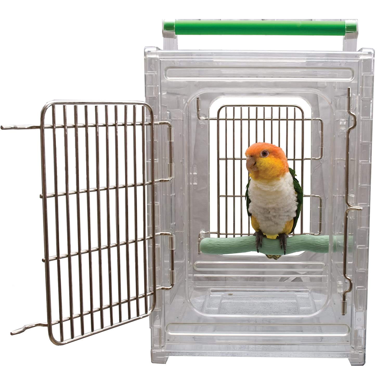 Caitec Perch N Go Polycarbonate Bird Carrier Caitec Corp 50002