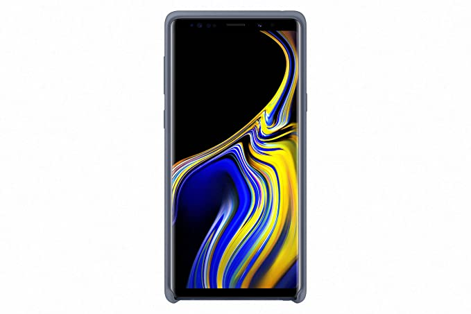 pretty nice 1d276 87736 Samsung Official Galaxy Note 9 Silicone Cover Case (Blue)