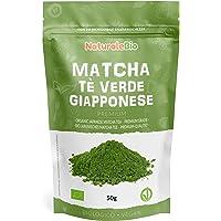 Biologische Matcha Thee in poeder [PREMIUMKWALITEIT] 50 gram. Bio Japanse Groene Matcha-Thee. Geproduceerd in Uji, Kyoto…