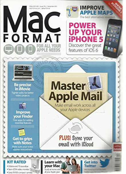 amazon com mac format december 2012 improve apple maps power up