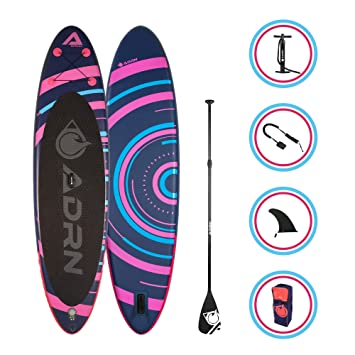 Tabla Hinchable de Paddle Surf Spiral 108 x 32 x 6 - Incluye ...