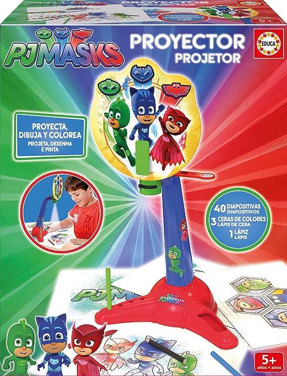 PJ Masks - Aprendo El Abecedario (Educa Borrás 17251): Amazon.es: Juguetes y juegos