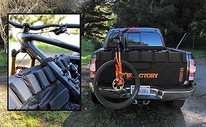 FOX Truck Pad 20 61quot L XL Black Orange