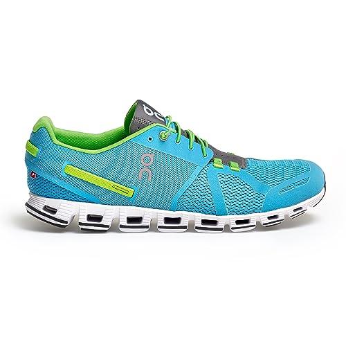 On Running Cloud Diver Lime, Color Azul, Talla 40.5: Amazon.es: Zapatos y complementos
