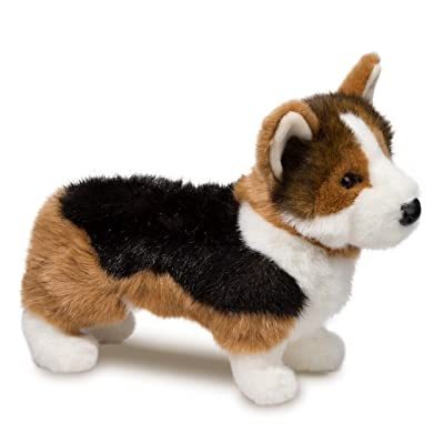 Douglas Kirby Tri-Colored Corgi Plush Stuffed Animal: Toys & Games