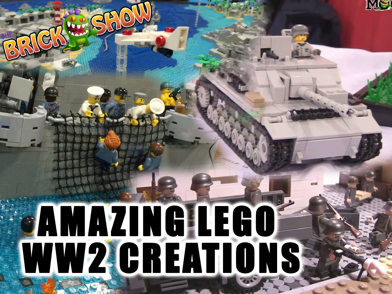 Amazon com: Watch Clip: Amazing LEGO World War 2 Creations