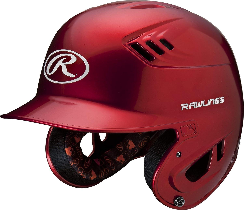 Renewed Rawlings R16 Series Metalllic Baseball Batting Helmet
