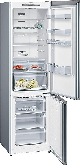 Siemens KG39NVL45 Integrado 366L A+++ Plata nevera y congelador ...