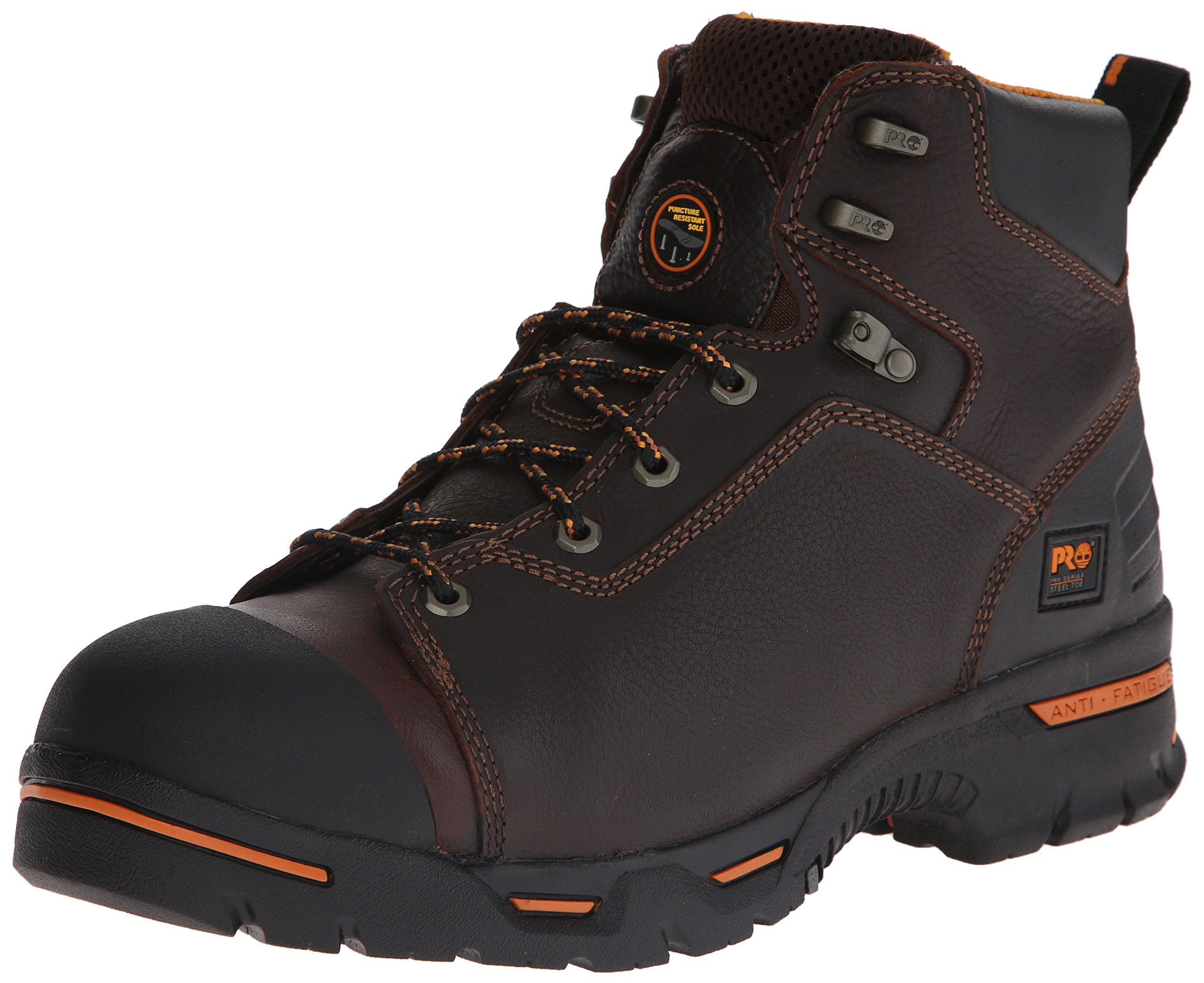 Timberland PRO Men's 52562 Endurance 6'' Puncture Resistant Work Boot,Brown,9.5 M