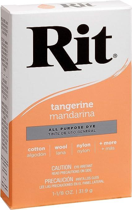 Rit Tinte en Polvo Mandarina, Multicolor, 1