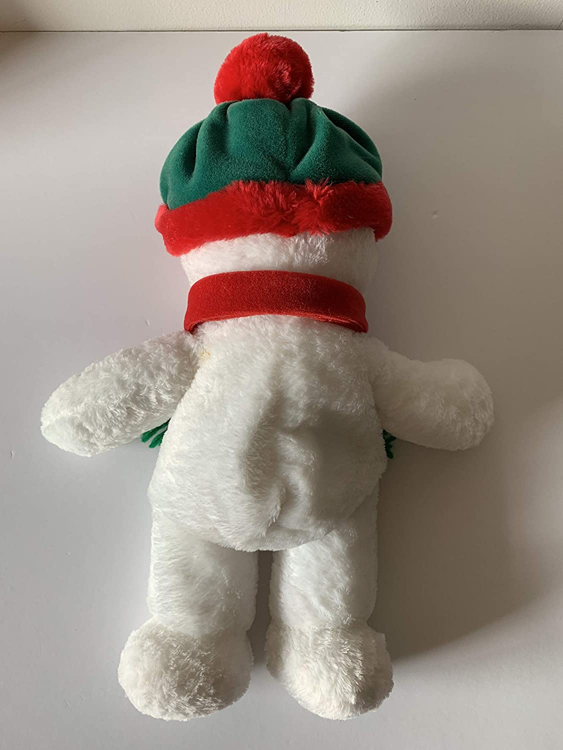2 lbs sensory toy Weighted stuffed animal snowman washable