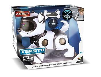 Amazon.es: IMC Toys Teksta Perro Robot Interactivo 24cm Distribución 96240