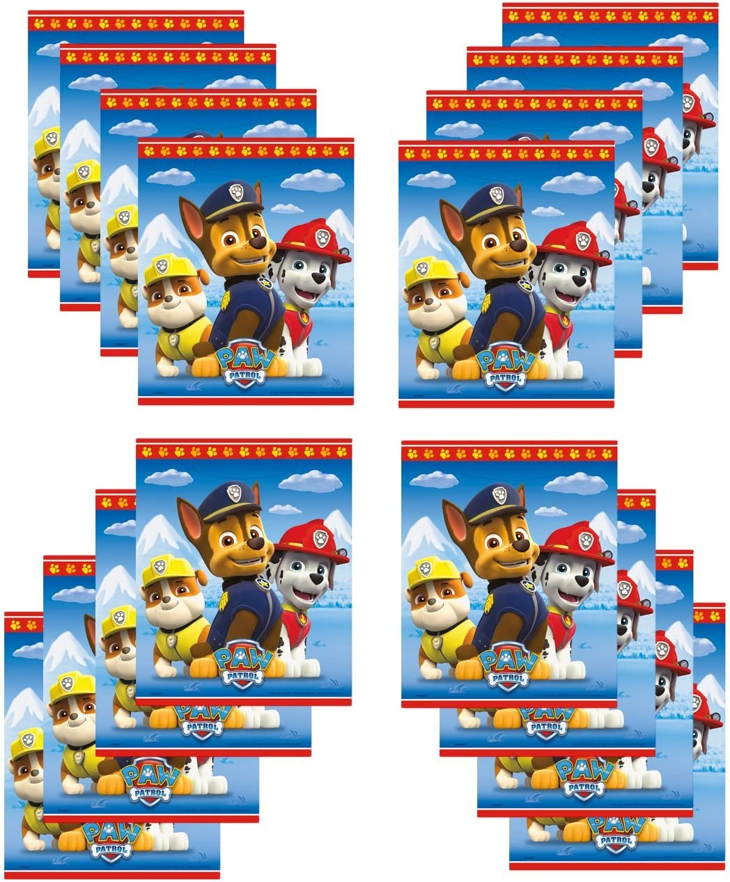 Paw Patrol Party Loot Bags 16 ct Unique Industries SG/_B01IO8SN5S/_US